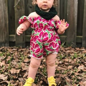 Other - Watermelon baby Romper